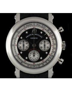 Franck Muller Stainless Steel Star Dial Endurance GT Chrono B&P 7008 CC