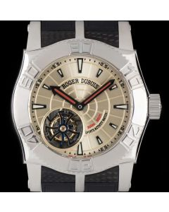 Roger Dubuis Easy Diver Just For Friends Flying Tourbillon Limited Edition Stainless Steel SE48-02-90-K9.53