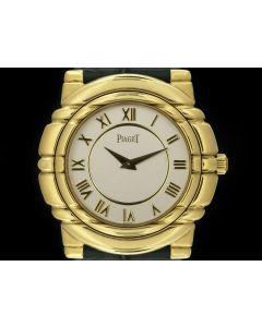 Piaget Tanagra Gold Ladies 18k Yellow Gold White Dial 95241