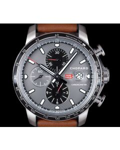 Chopard Mille Miglia Race Edition Gents Stainless Steel Grey Dial 168571-3004