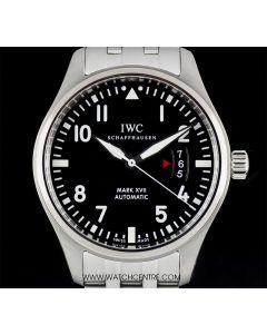 IWC Stainless Steel Unworn Mark XVII Dial Fliegeruhr Pilots Watch B&P IW326504