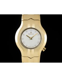 Tag Heuer Alter Ego Ladies 18k Yellow Gold Mother Of Pearl Diamond Dial WP1440