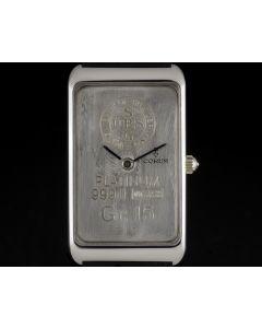 Corum Platinum 15 Grams 999.0 Union Bank of Switzerland Ingot B&P 55400