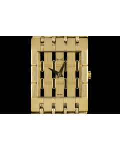Piaget Polo Men's 18k Yellow Gold Dress Watch 9131