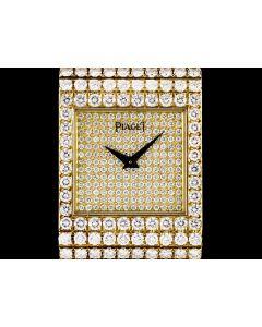 Piaget Polo Gents 18k Yellow Gold Diamond Set 7131C626