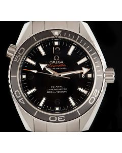 Omega Seamaster Planet Ocean Gents Stainless Steel Black Dial B&P 232.30.42.21.01.001