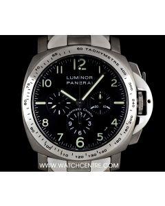 Panerai Titanium Black Dial Luminor Chronograph Gents PAM00072
