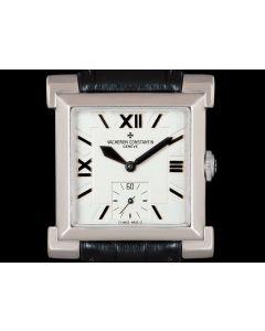 Vacheron Constantin Limited Edition Carree Historique Men's 18k White Gold Silver Dial 91030/000G-8919