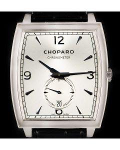 Chopard L.U.C Chronometer XP Tonneau Gents 18k White Gold Silver Dial 16/2294-1001