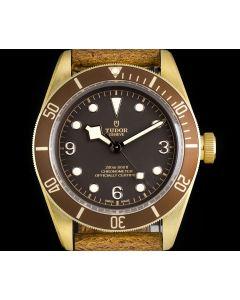 Tudor Unworn Heritage Black Bay Gents Bronze Brown Dial B&P 79250BM
