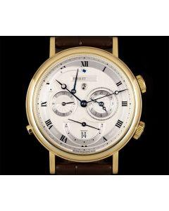 Breguet Le Reveil Du Tsar Gents 18k Yellow Gold Silvered Dial 5707BA/12/9V6