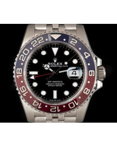Rolex Unworn GMT-Master II Pepsi Stainless Steel B&P 126710BLRO