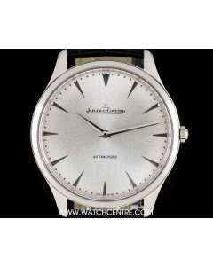 Jaeger LeCoultre Stainless Steel Silver Dial Ultra Thin Gents B&P Q1338421