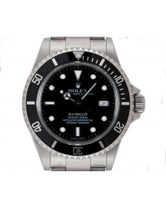 Rolex Sea-Dweller Men's Stainless Steel Black Dial 16600