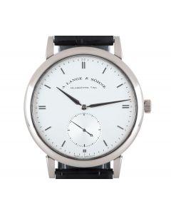 A. Lange & Sohne Grand Saxonia White Gold Men's Silver Dial 307.026/LS3073AJ