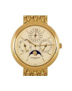 Vacheron Constantin Patrimony Perpetual Calendar Men's 18k Yellow Gold Champagne Dial 43031/236