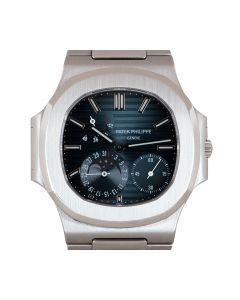 Patek Philippe Very Rare Nautilus Men's Stainless Steel Black Grey Dial B&P 3712/1A-001