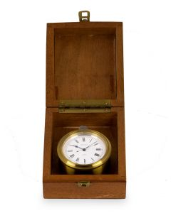 Ulysse Nardin British Military Issue Deck Pocket Watch Vintage Men's Silver White Enamel Dial