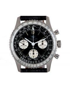 Breitling Navitimer Vintage Gents Stainless Steel Black Dial 806