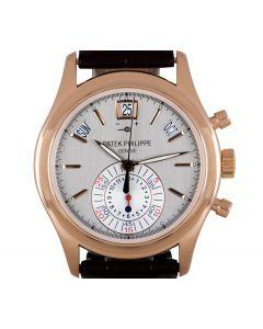 Patek Philippe Annual Calendar Men's 18k Rose Gold Grey Dial B&P 5960R-001