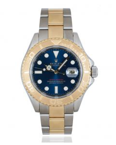 Rolex Yacht-Master Stainless Steel & Yellow Gold Blue Dial 16623