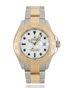 Rolex Yacht-Master Stainless Steel & Yellow Gold White Dial 16623
