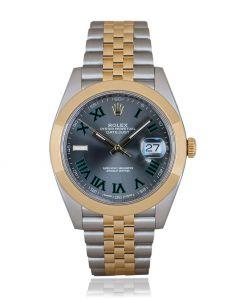 Rolex Datejust 41 Wimbledon Dial 126303