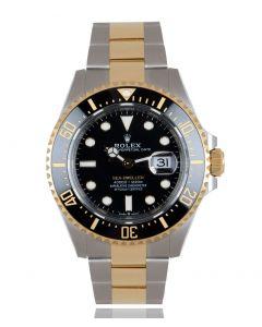 Rolex Unworn Sea-Dweller Stainless Steel & Yellow Gold B&P 126603