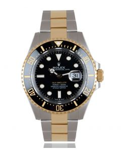 Rolex Sea-Dweller Stainless Steel & Yellow Gold 126603