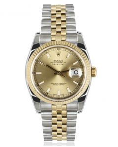 Rolex Stainless Steel and Yellow Gold Datejust 116233