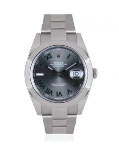 Rolex Datejust 41 Wimbledon Dial  126300