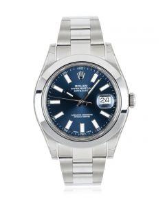Rolex Datejust II NOS Blue Dial 116300
