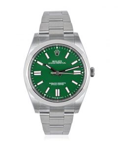 Rolex Oyster Perpetual 41 Green Dial 124300