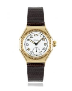 Rolex Oyster Octagonal Vintage Yellow Gold