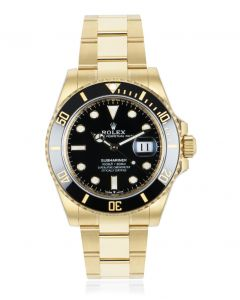 Rolex Submariner 41mm Yellow Gold 126618LN
