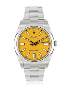 Rolex Oyster Perpetual 41 Yellow Dial 124300