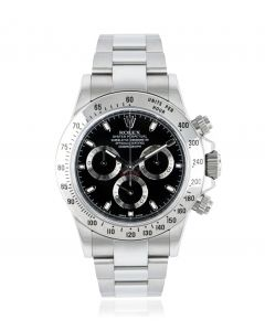 Rolex Daytona Stainless Steel APH Black Dial 116520