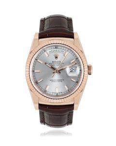 Rolex Day-Date Rose Gold 118135