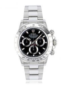 Rolex Daytona Stainless Steel Black Dial 116520
