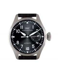 IWC Big Pilots Men's 18k White Gold Grey Dial IW500402