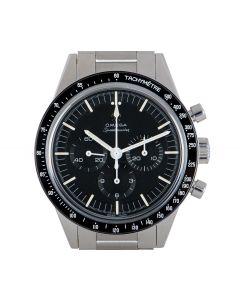 Omega Unworn Speedmaster Moonwatch Men's Stainless Steel Black Dial B&P 311.30.40.30.01.001