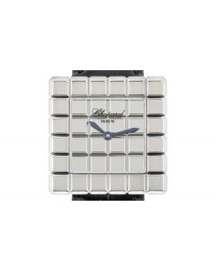 Chopard Ice Cube Women's 18k White Gold Mirror Dial 12/7407