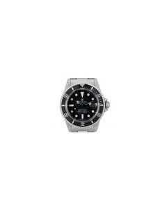 Rolex Submariner Date Vintage Men's Stainless Steel Matte Black Dial 1680