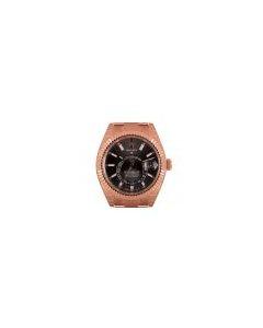 Rolex Unworn Sky-Dweller Rose Gold Slate Dial B&P 326935