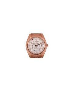 Rolex Unworn Sky-Dweller Rose Gold Intense White Dial B&P 326935