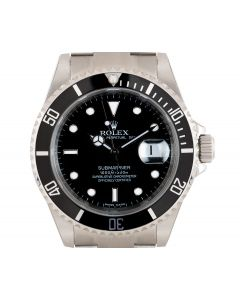 Rolex Unworn Submariner Date NOS Men's Stainless Steel Black Dial B&P 16610