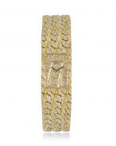 Vacheron Constantin Aton Vintage Yellow Gold Diamond Set