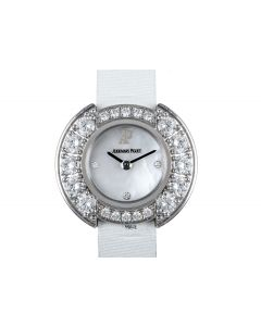 Audemars Piguet Unworn White Gold Diamond Set Women's Cocktail Dress Watch 67366BC/Z/0010RA/01