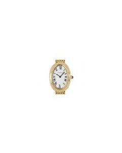 Cartier Baignoire Vintage Women's 18k Yellow Gold Silver Dial