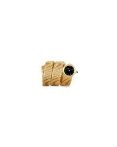Bvlgari Rare Women's Vintage Tubogas Yellow Gold